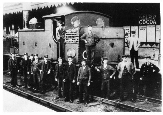 Wickford Station c.1907