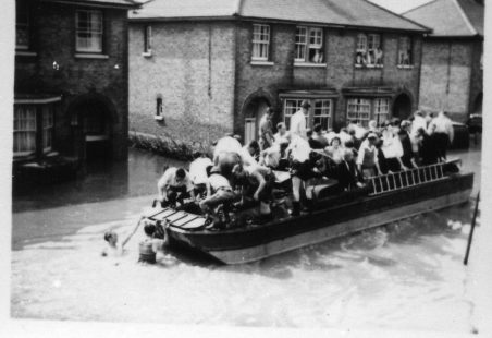 The Wickford floods