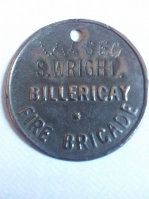 John Wright began his service :- This is his locker fob which my late Grandmother found in her button box. | Trevor Williams