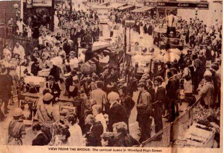 Wickford Carnival, 1980