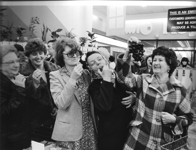 Opening of the new Keymarket store in 1981.