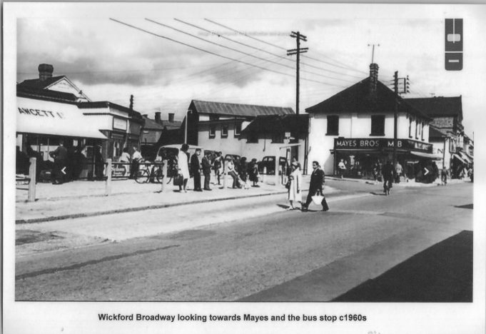 Views of Wickford Broadway, including during the First World War.