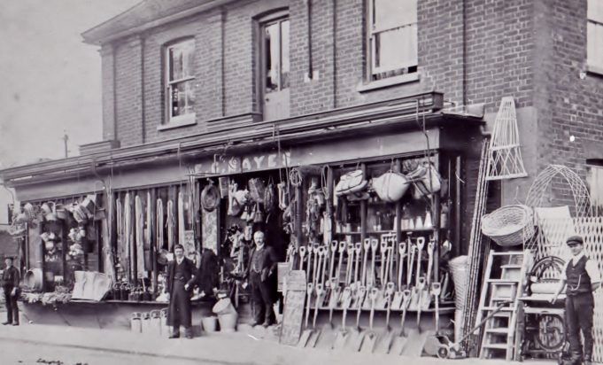 Photo of the Mayes store