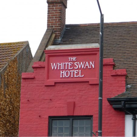 The White Swan Hotel sign | Jo Cullen