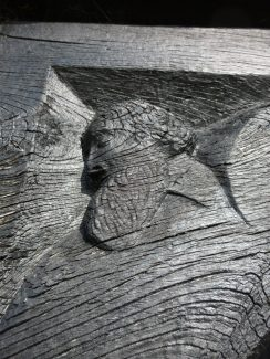 The carving of Mr Clark | Jo Cullen