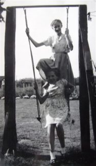 Lorraine and Valerie Weber