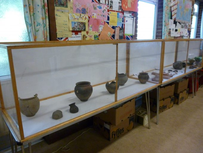 Some of David De'ath's Roman pottery | Jo Cullen
