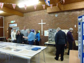 'Wickford at War' Open Day at Christchurch, 9th May 2015
