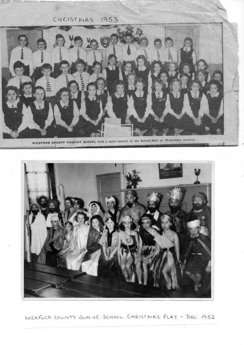 WICKFORD COUNTY JUNIOR SCHOOL, 1952-53