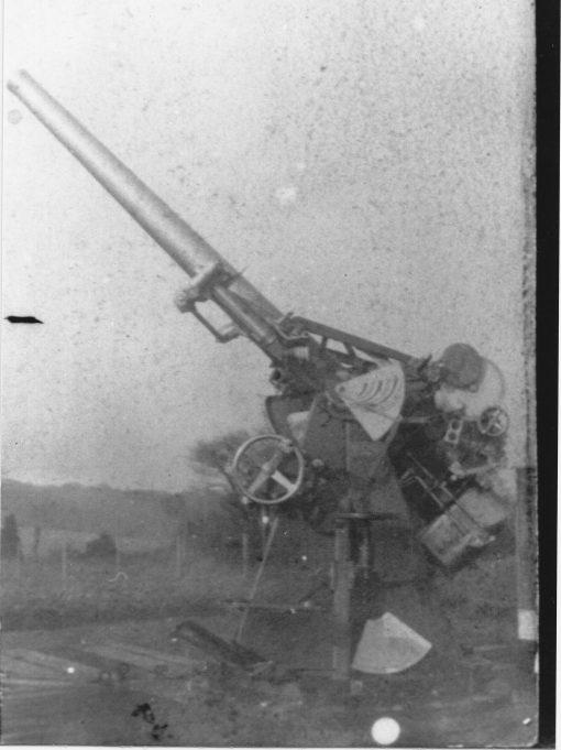AA Gun Emplacement 1918