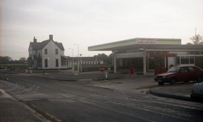 Runwell Road Garage mid 1980's | John Fuller