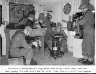 5Regiment Royal Horse Artillery 1940