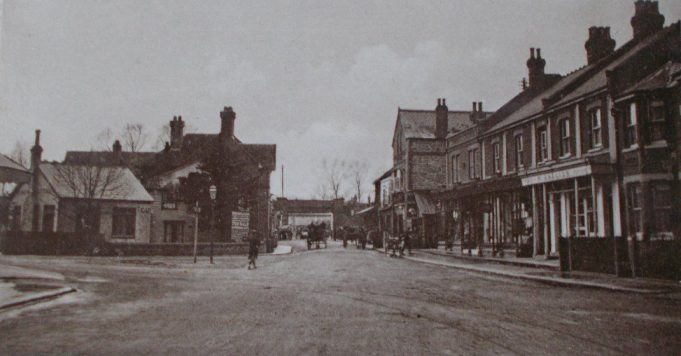 The Broadway around 1900