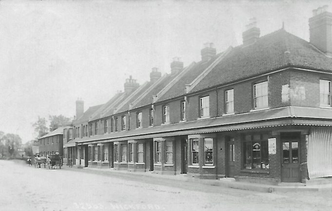 The Broadway in 1907, this building still exists minus a few chimney stacks!  Considering that has existed for over 100 years there are considerable architectural features that have not been lost over the years.