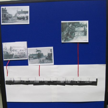 Old photos showing changes - Runwell Road end