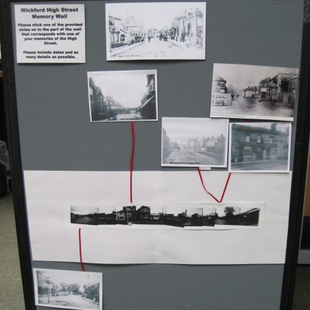 Old photos showing changes - North end of the High Street