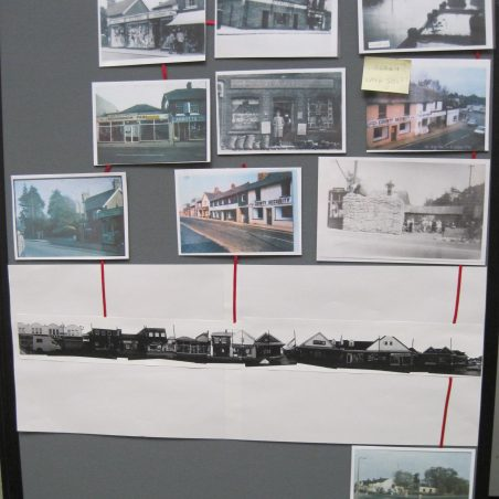 Old photos showing changes - South end of the High Street