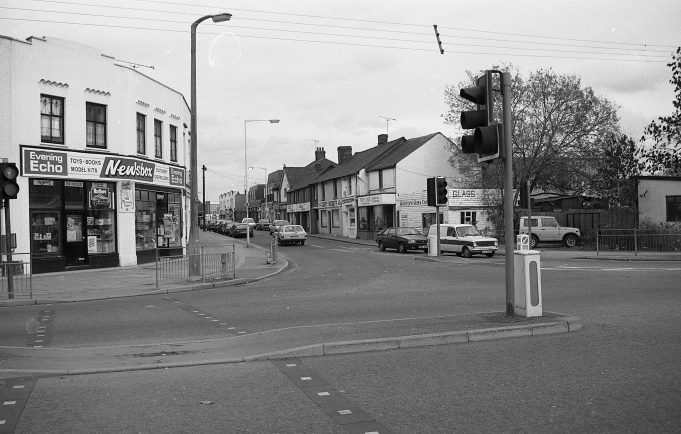 Wickford High Street, views from Hall's Corner. | copyright Barry Wade