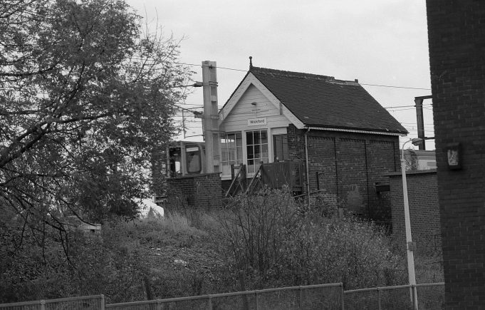 The Wickford signal box 1980s (1)