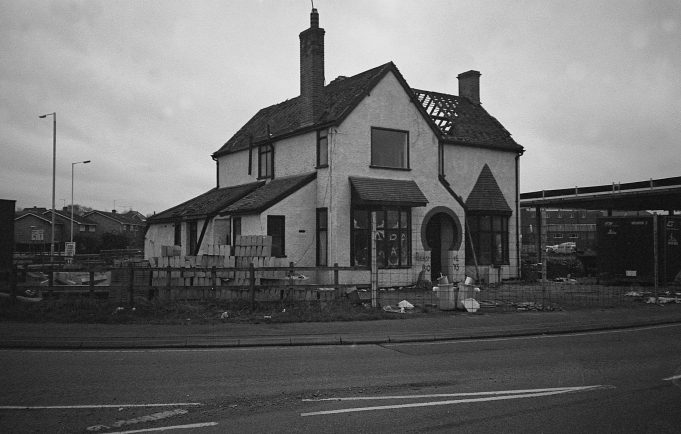 Runwell Road (1) The house that became a roundabout | copyright Barry Wade