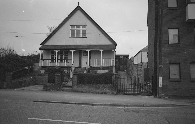 Building in Lower Southend Road | copyright Barry Wade