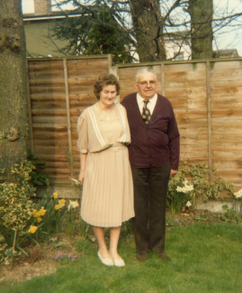 Golden and Tiny at their Golden Wedding Anniversary | Jennifer Read