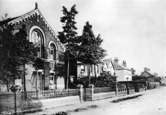 Congregational Church, High Street, Wickford. Demolished in 1972