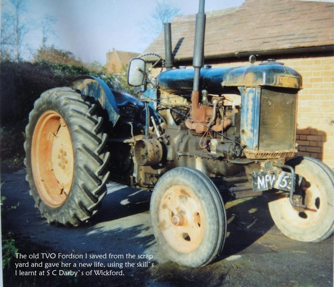 1950 Fordson Major TVO. | John Wernham.