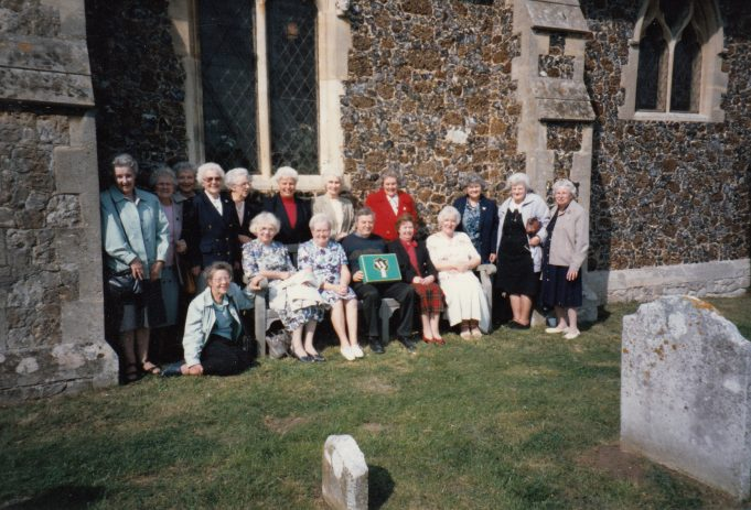 The Wickford Women's Institute made one of the kneelers for the church | Downham Church Collection