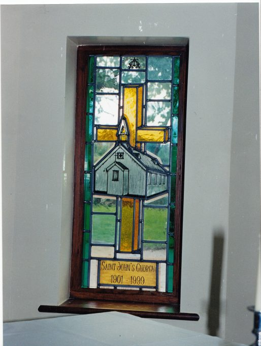 One of the new smaller windows | Downham Church Collection