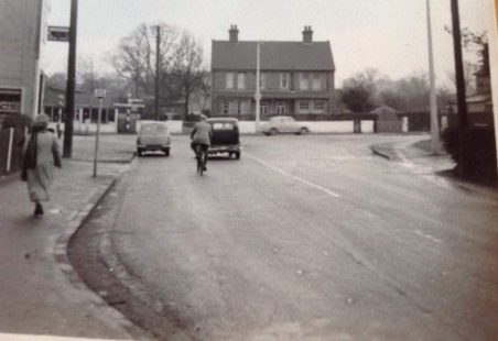 Halls Corner, Wickford, c1960.