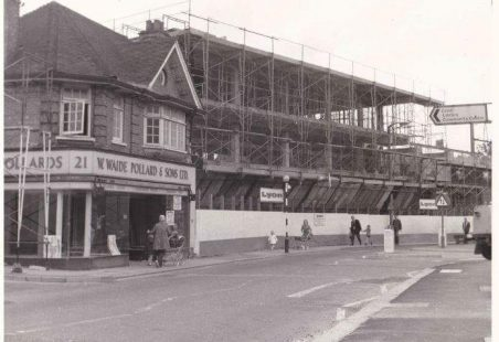 Willowdale Centre, 1974, under construction.