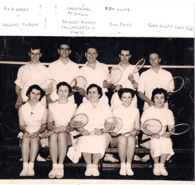 Wickford Tennis Club. When was this photograph taken? Do we have names for the players?