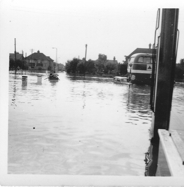 Photographs of the 1958 Floods