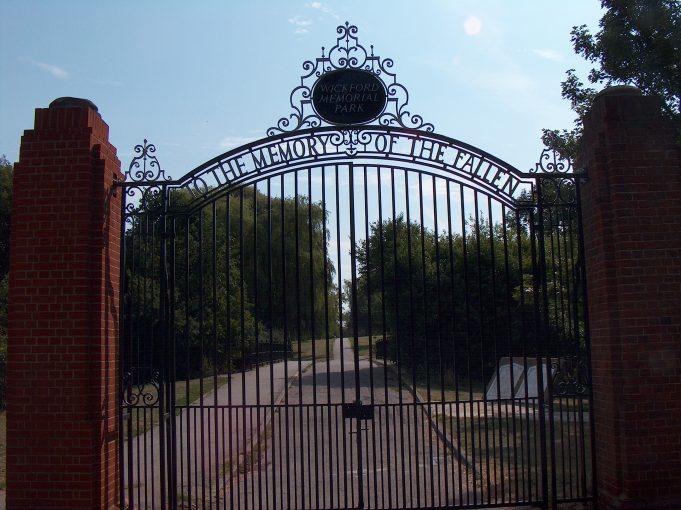 Memorial Park Gates