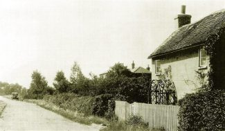 Hall Cottage where Peter lived from 1937