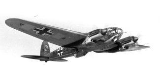 Heinkel Me 111 Bomber.