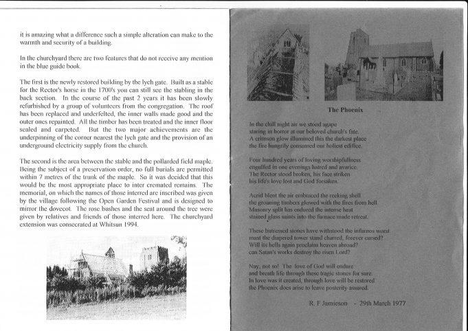 St Margaret's Church, Downham: the Phoenix Church (2)
