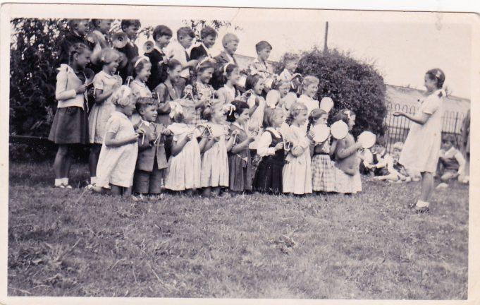 Percussion Band, Infants School, July 1949. | Pamela Kernick