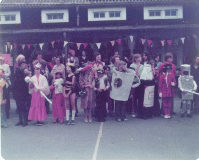 Fancy Dress at Wickford County Junior School | From the private collection of Julie Warren
