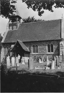 St Catherine's Church, late 1960s   Pat Carlson