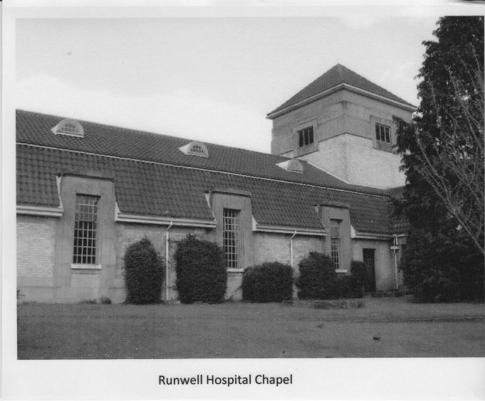 Runwell Hospital, the chapel.
