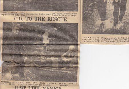 Wickford Floods  1958