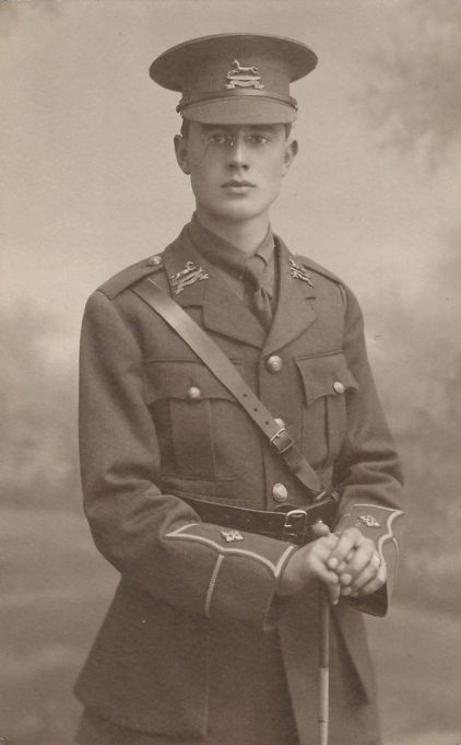 Jack Bartlett, who died in World War 1 | Tom May