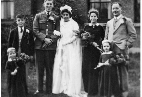 Wedding of Joan Watts & Harry Richardson