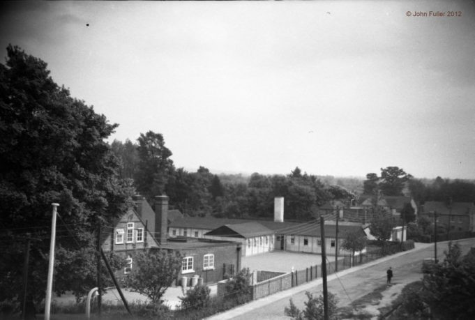 July 1959.  Irvon Hill from roof of Wickford Secondary Modern which is now Wickford Junior School | John Fuller