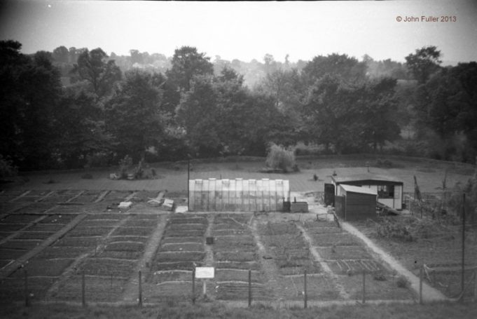 School Allotments for children, taken from the roof of Wickford Secondary Modern.  July 1959 | John Fuller