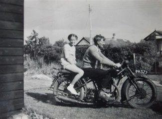 Lorraine and Austen Taylor