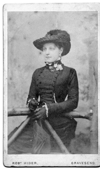 Lydia Emeney (May Sarah's Sister born in same shop) | Marion Parish (Lydia Emeney Descendant)