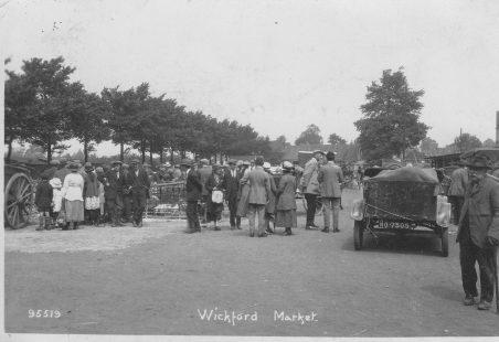 Wickford Market, circa 1920s.